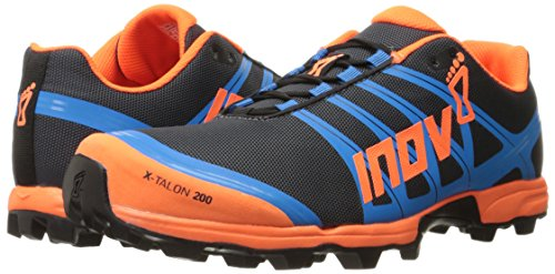 Inov-8 X-Talon 200 Grey Orange Blue, Mehrfarbig, 38.5 EU / 6 UK
