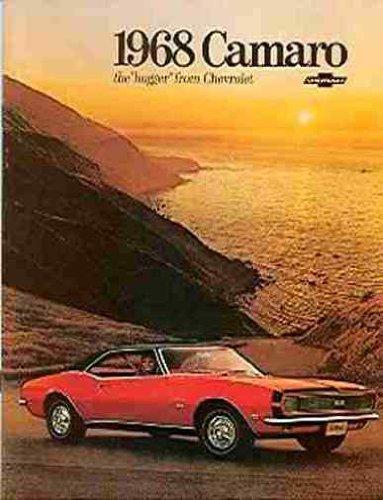 BEAUTIFUL 1968 CHEVROLET CAMARO DEALERS SALES BROCHURE - ADVERTISMENT