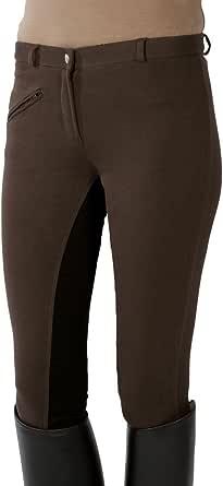 PFIFF - Pantalones de equitación con culera para niños, Color