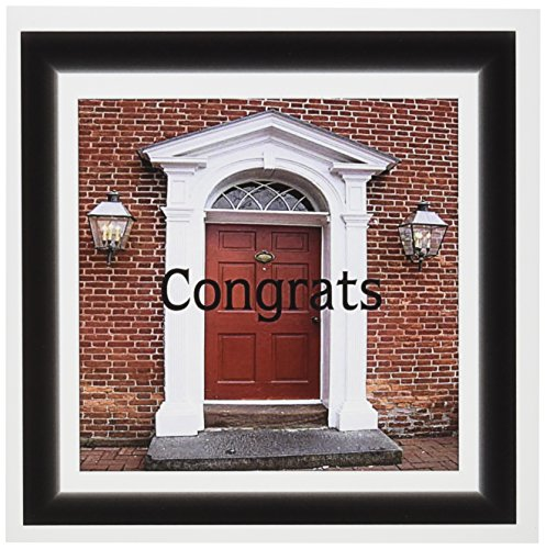 3dRose Set of 12 Greeting Cards, Print of Stately Doorway with New Home Congrats (gc_184247_2)