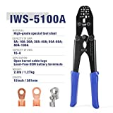 IWISS Battery Cable Lug Crimping Tool for Open
