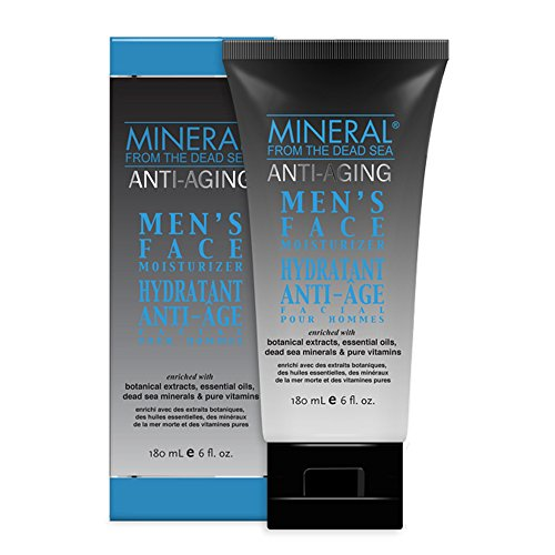 Mineral from the Dead Sea Men's Face Moisturizer, 6 oz