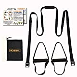 NOSSK HOME Suspension Bodyweight Fitness Trainer (black)