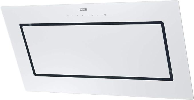 FRANKE MYTHOS FMY 907 WH Kopffreihaube Glas Weiß Breite 90 cm EEK: A+: Amazon.es: Grandes electrodomésticos