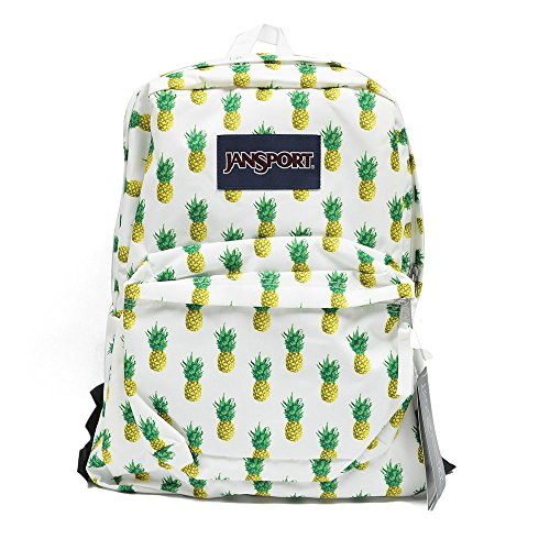 Classic Jansport Superbreak Backpack (Multi Tropic Gold