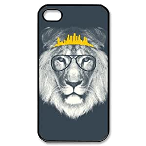 DIY Phone Case for iPhone 6 plus 5.5, Hipster Lion Cover Case - HL-R689247