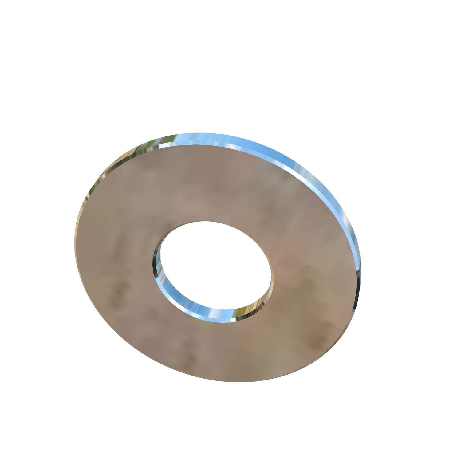 3//4 Inch Flat Washer 0.148 Thick X 2 Inch Outside Diameter Allied Titanium 0046384, Pack of 2 CP Grade 2