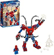 LEGO Marvel Spider-Man: Spider-Man Mech 76146 Kids' Superhero Building Toy, Playset with Mech and Minifigure,