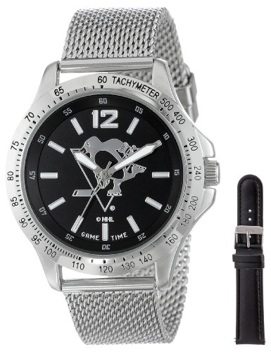 """Game Time Men's NHL-CAG-PIT """"Cage"""" Watch - Pittsburgh Penguins"""