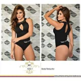 Moda Colombiana Womens Body Shaper Blouse Blusa Fajas Colombianas Ab Control Ref 4355 ONE SIZE