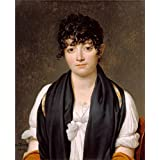 Perfect effect Canvas ,the Replica Art DecorativeCanvas Prints of oil painting 'Suzanne Le Peletier de Saint-Fargeau, 1804 By Jacques-Louis David', 10x12 inch / 25x31 cm is best for Living Room decor and Home decor and Gifts