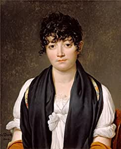 The Perfect effect Canvas of oil painting 'Suzanne Le Peletier de Saint-Fargeau, 1804 By Jacques-Louis David' ,size: 10x12 inch / 25x31 cm ,this Best Price Art Decorative Prints on Canvas is fit for Foyer gallery art and Home artwork and Gifts