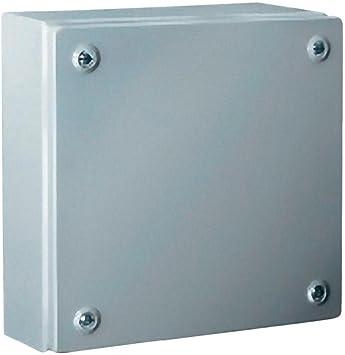 Rittal 1510.510 Acero IP66 caja eléctrica - Caja para cuadro eléctrico (600 mm, 120 mm, 300 mm): Amazon.es: Bricolaje y herramientas