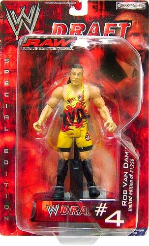 WWE Raw Draft #4 Rob Van Dam Limited Edition by Jakks Pacific Inc 2002 by Jakks Pacific