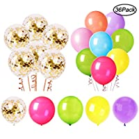 NEILDEN Disney Mickey Mouse Balloons 12 Pack, 12 Inch Colorful Latex Party Balloons, Cute Cartoon Balloons for Kids Ages 3 and up, Ideal Decoration for Birthday, Christmas, Wedding, Anniversary