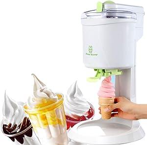 DaMai Ice Cream Machine 1L High Capacity Household Fruit Ice Cream Machine, Simple One Push Operation, for Home DIY Kitchen