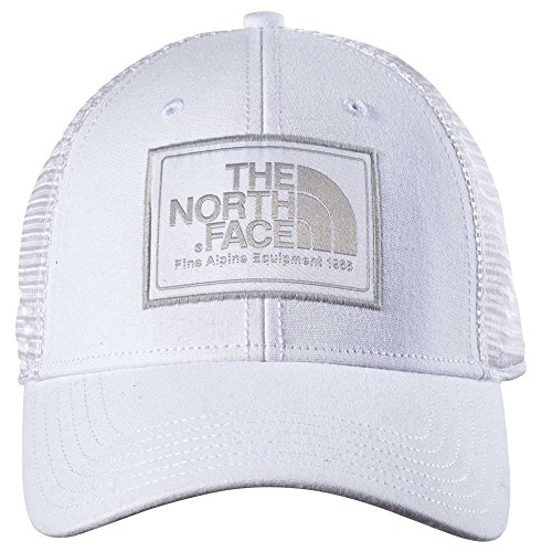 White Trucker Cap (The North Face Mudder Trucker Hat - TNF White & High Rise Grey - OS)