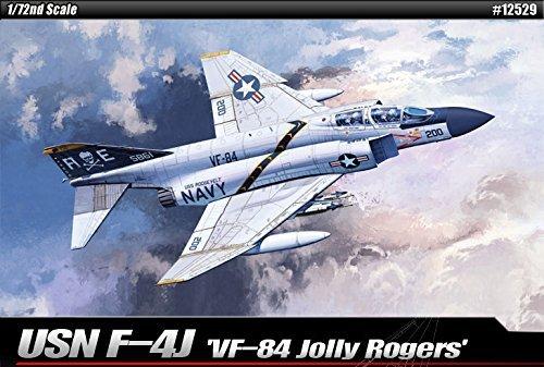 1/72 USN F-4J VF-84 Jolly Rogers #12529 Academy Hobby Kits (Usn Jolly Vf 84 Rogers)