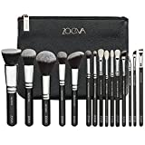 Brushes Makeup Cosmetics Tool Luxe Complete Bag Kit Set Professional Best Seller Organizer Bag Travel Small Large for Girl Real Techniques Eye Full Bag Complete Eye ZOEVA Set 15 Face Brushes.