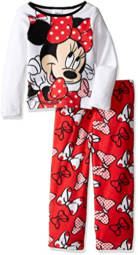 Disney Girls Minnie 2 Piece Pajama