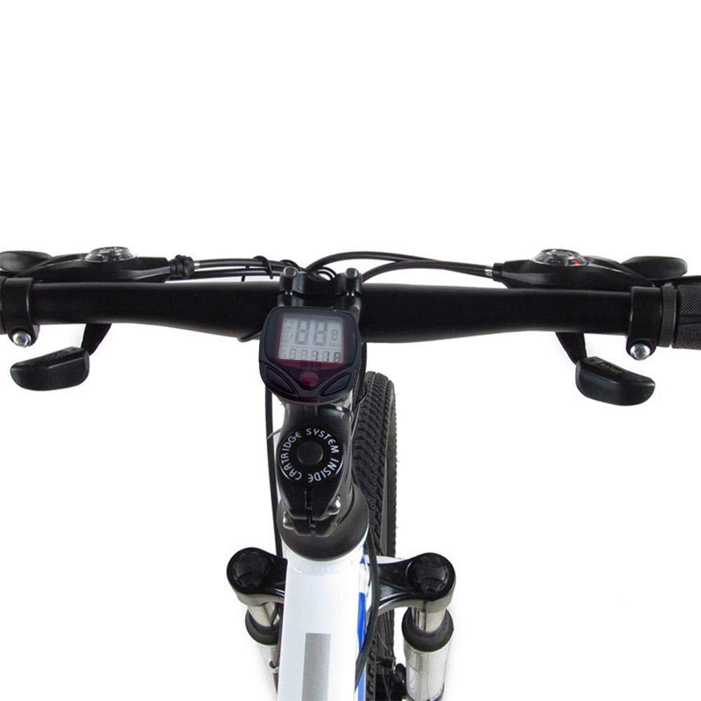 Ganmaov Fahrradcomputer Kilometerz/ähler Fahrrad Wasserdicht Fahrradtacho f/ür Radsport Realtime Speed Track