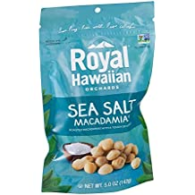 Royal Hawaiian Orchards Nut Macadamia Sea Salt (Pack of 3)