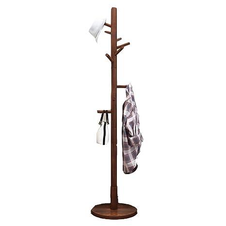 Amazon.com: Perchero de madera maciza con diseño de escudo ...