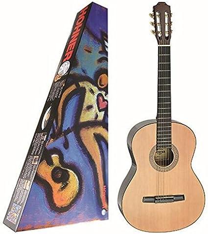 Hohner Guitarra Classic HC-06 N: Amazon.es: Instrumentos musicales