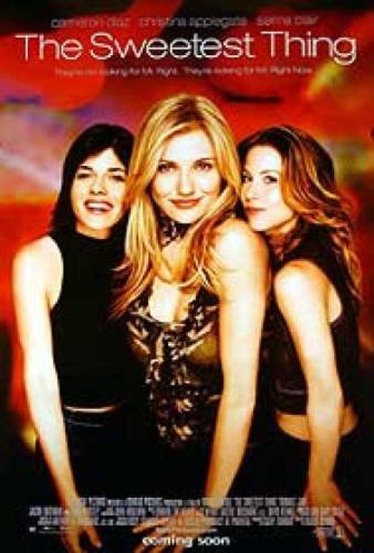 The Sweetest Thing 27X40 Double Sided International US Cameron Diaz Christina Applegate Selma Blair - International Cameron