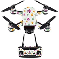 Skin for DJI Spark Mini Drone Combo - Owls| MightySkins Protective, Durable, and Unique Vinyl Decal wrap cover | Easy To Apply, Remove, and Change Styles | Made in the USA
