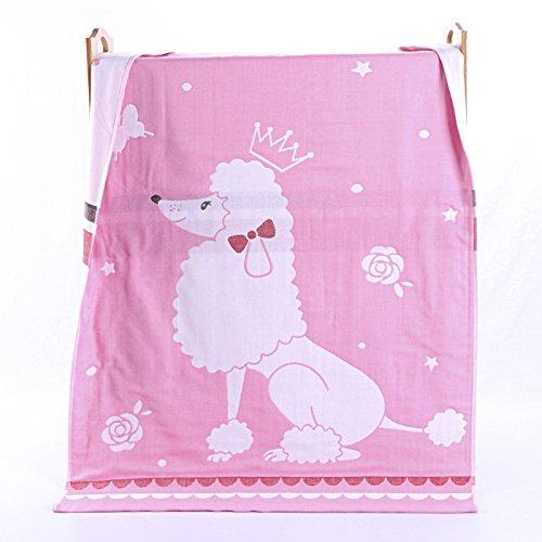 PENG Kids Bath/Beach/Pool Towel Girls Boys Cute Cartoon Animal Full Vitality,100% Cotton(Rainbow sheep pink) by PENG