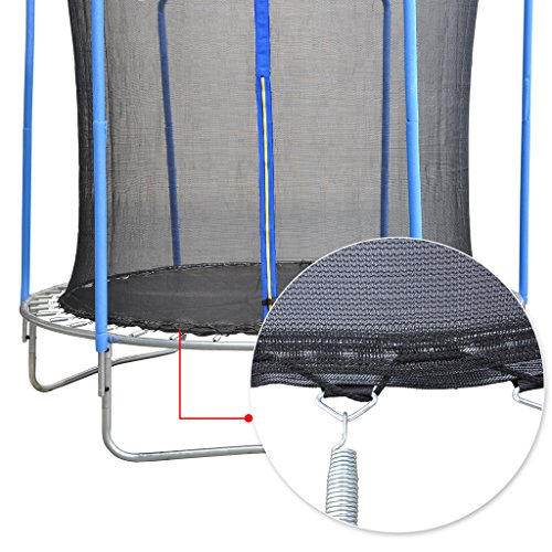 BPS 12Ft Trampoline Replacement Safety Net For 4 Poles Top