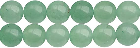 23 Pcs 8 Strand 8mm Faceted Round Green Aventurine