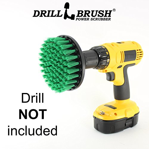 Price comparison product image Carpet Brush Drill Attachment Medium Duty Scrubbing Drill Brush with Quarter Inch Quick Change Shaft