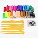 24 couleurs Pâte polymère + outils de modelage + accessoire