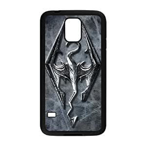 Game Skyrim For Cell Phone Case Samsung Galaxy S5 Black Case Cover W13W7062761