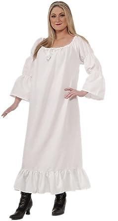 Amazon.com  Adult size Medieval Renaissance Chemise - Under Dress ... 083cabb9a