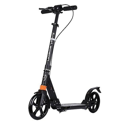Zhongglass - Patinete de Dos Ruedas con Pedal de Aluminio ...