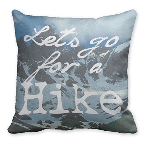 Gentle breeze Lets Go For A Hike Hiking Decorative Throw Pillows For Sofa 18