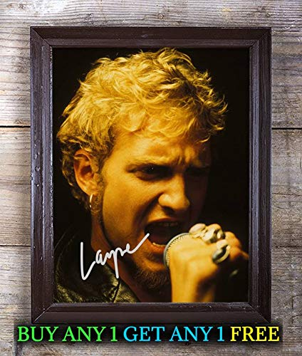 Layne Staley Alice in Chains Autographed Signed Reprint 8x10 Photo #17 Special Unique Gifts Ideas for Him Her Best Friends Birthday Christmas Xmas Valentines Anniversary Fathers Mothers Day