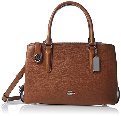 Pebbled 28 COACH Sv Carryall Womens Brooklyn saddle qpwwfnO5x