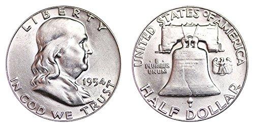 1954 P Franklin Half Dollar $.50 Brilliant Uncirculated ()