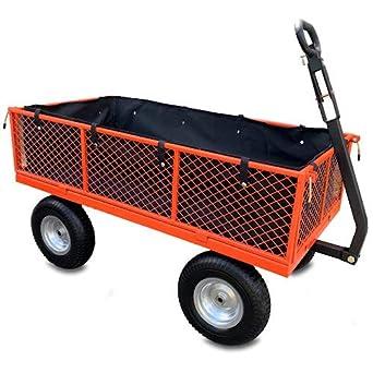Sherpa SLGT - Carrito de jardín con ruedas a prueba de pinchazos y forro: Amazon.es: Industria, empresas y ciencia