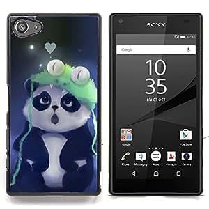 - Cute Panda - - Cubierta del caso de impacto con el patr??n Art Designs FOR Sony Xperia Z5 compact / mini Queen Pattern