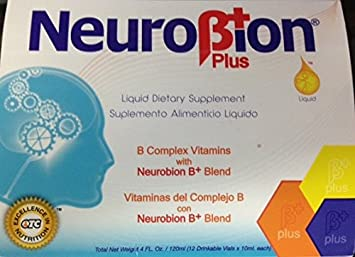 Neurobion Plus Liquid Vitamin Viales - 12 Count