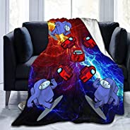 vipsung Game Among Us Ultra-Soft Micro Fleece Blanket Throw Bedspread Home Decor Perfect for Couch Sofa Beds S