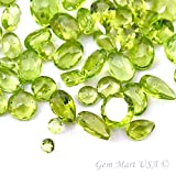 Wholesale 100 + Carats mix Peridot GEM MART USA GEMSTONES, Loose Faceted Stones, Peridot Mix, AAAmazing Cut and Quality, Loose Peridot Mix,Mix Gems, Mixed Gemstone, Gem Mart Usa Stones Lot