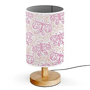 Tischlampe gezeichnet  ArtsyLight - Schreibtischlampe LED Holz Tischlampe, USB-Stecker ...