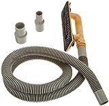 Hyde Tools 09165 Dust-Free Drywall Vacuum Hand Sander with 6-Foot Hose, 6' (Renewed)