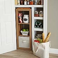 Better Homes and Gardens 3-Cube Organizer Storage Bookshelf (Weathered)